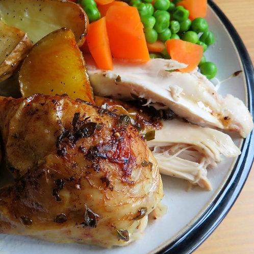 Roast Chicken and Veg