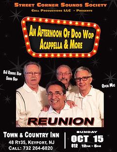 Reunion doo wop group