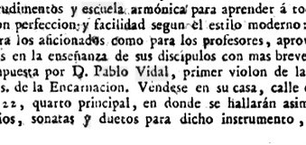 Pablo Vidal 17?? - 1807