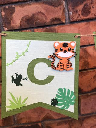 C - Animal Custom Made Bunting