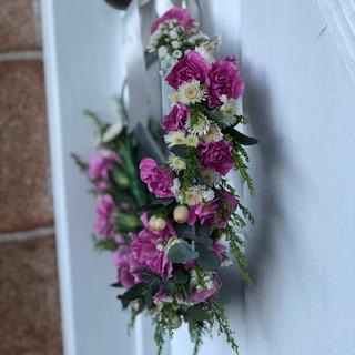 Pink Summer Flower Crown