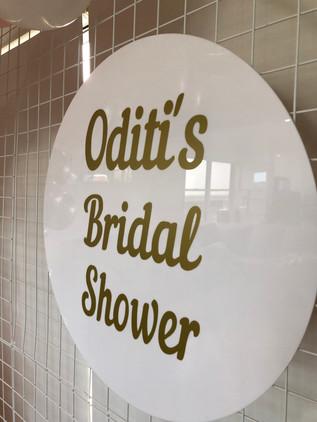 Bridal Shower Signage