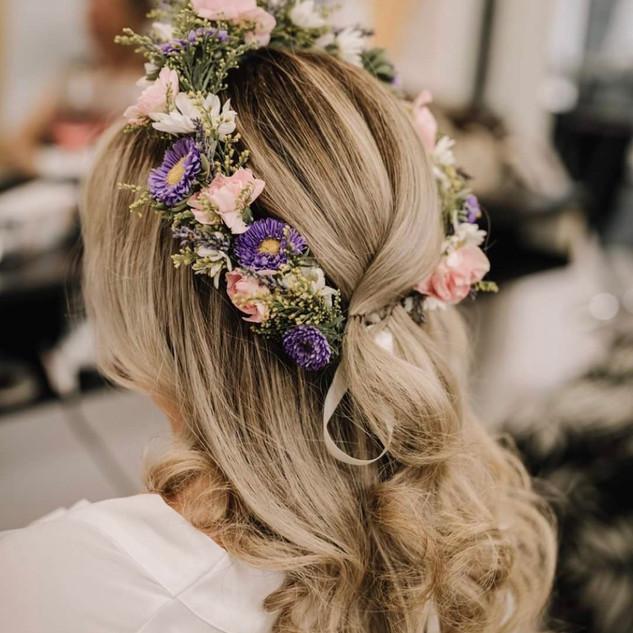 Wild Flower Wedding Flower Crown