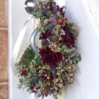 native wedding flower crown