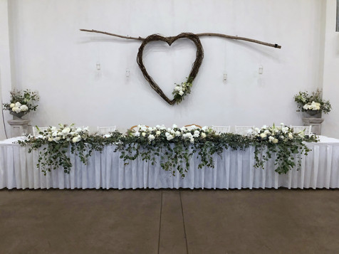 S&T  Bridal Table