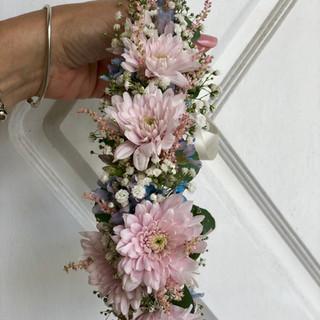 baby shower flower crown