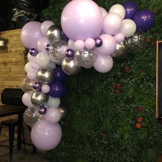 Purple Balloon Garland