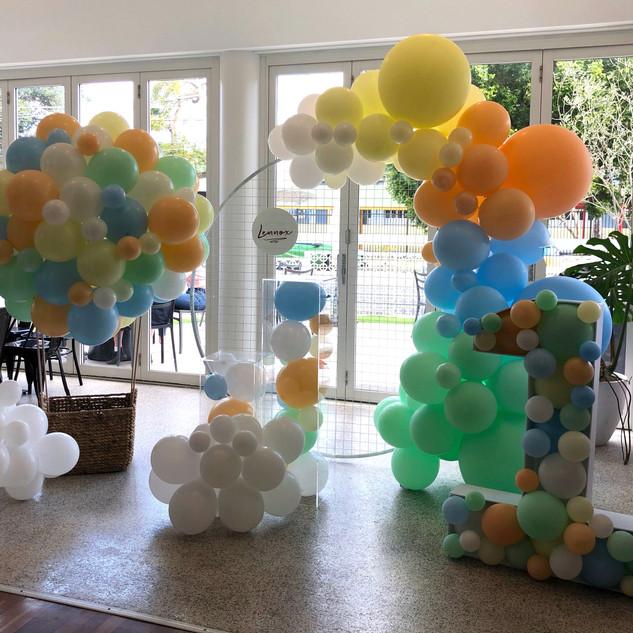 First Birthday Balloons