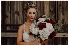 Styled Bridal Shoot Silk Bridal Bouquet