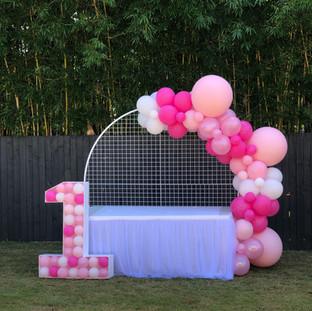 Pink Pink Pink - 1 st Birthday