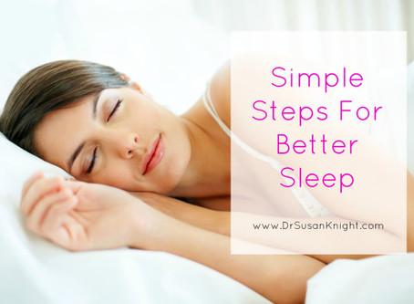 Simple Steps to Better Sleep