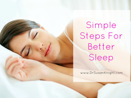 Simple Steps to Better Sleep