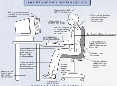 """Make Your Workstation """"Spine Smart"""""""