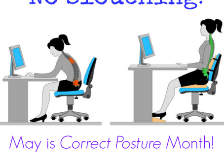 May is Correct Posture Month