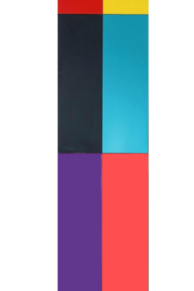Acrylic on Panel Titled: TwoFourSix