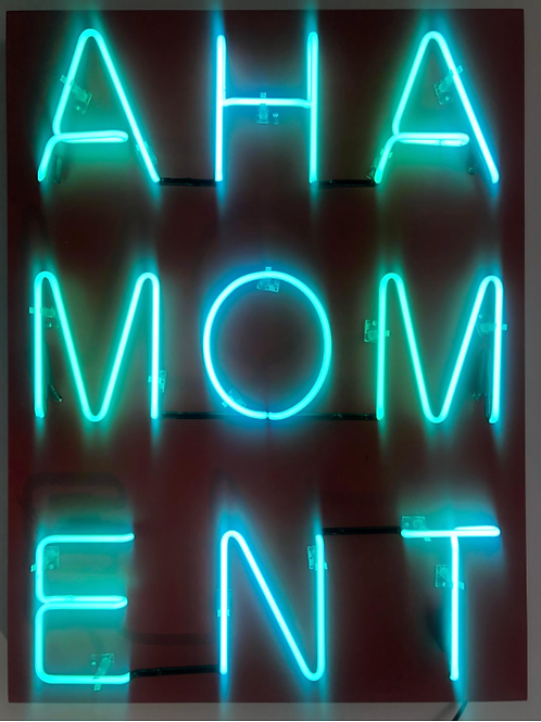 Acrylic & Neon on Panel by William Finlayson