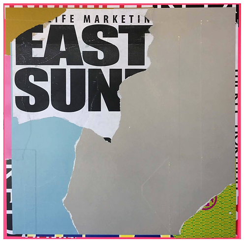 Mixed Media Painting Titled: East Sun