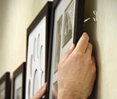 Picture Hanging / Art Installation