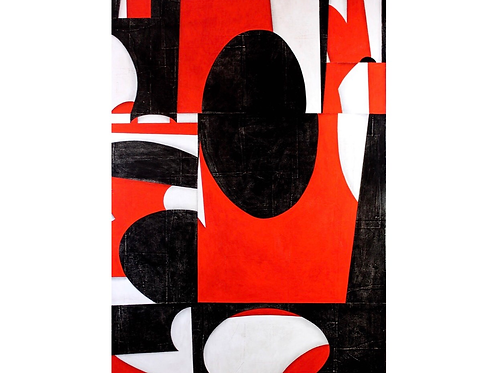 Painting on Panel Titled PDP595ct12