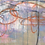 """Thumbnail: Abstract Expressionist Painting on Panel Titled: """"Social Distance"""""""