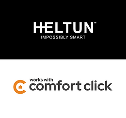 "HELTUN products now certified as ""working with ComfortClick"""