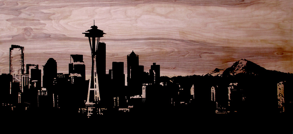 Seattle Scape: SOLD