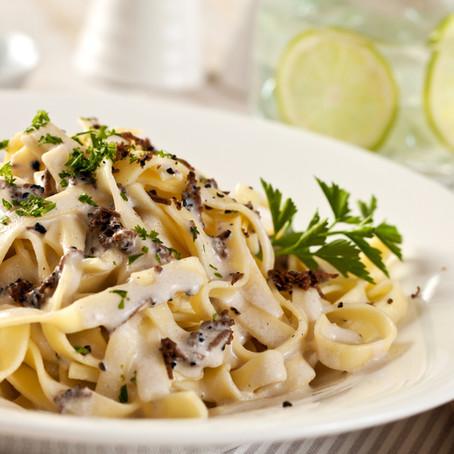 Creamy Pasta with Truffles