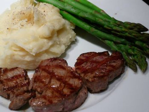 Roasted Beef Tenderloin Medallions | Belmont Hills Country Club