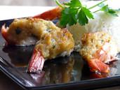 Crab Stuffed Prawns