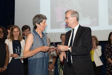 Photo de la remise de prix