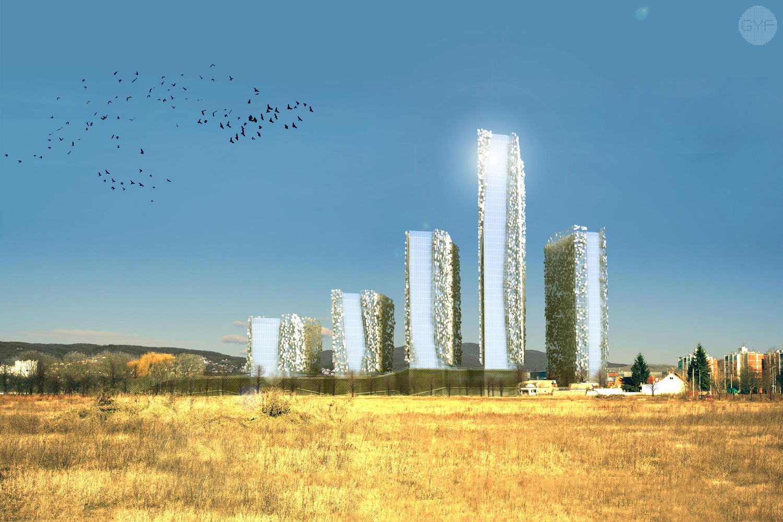 Business towers, Savska Opatovina