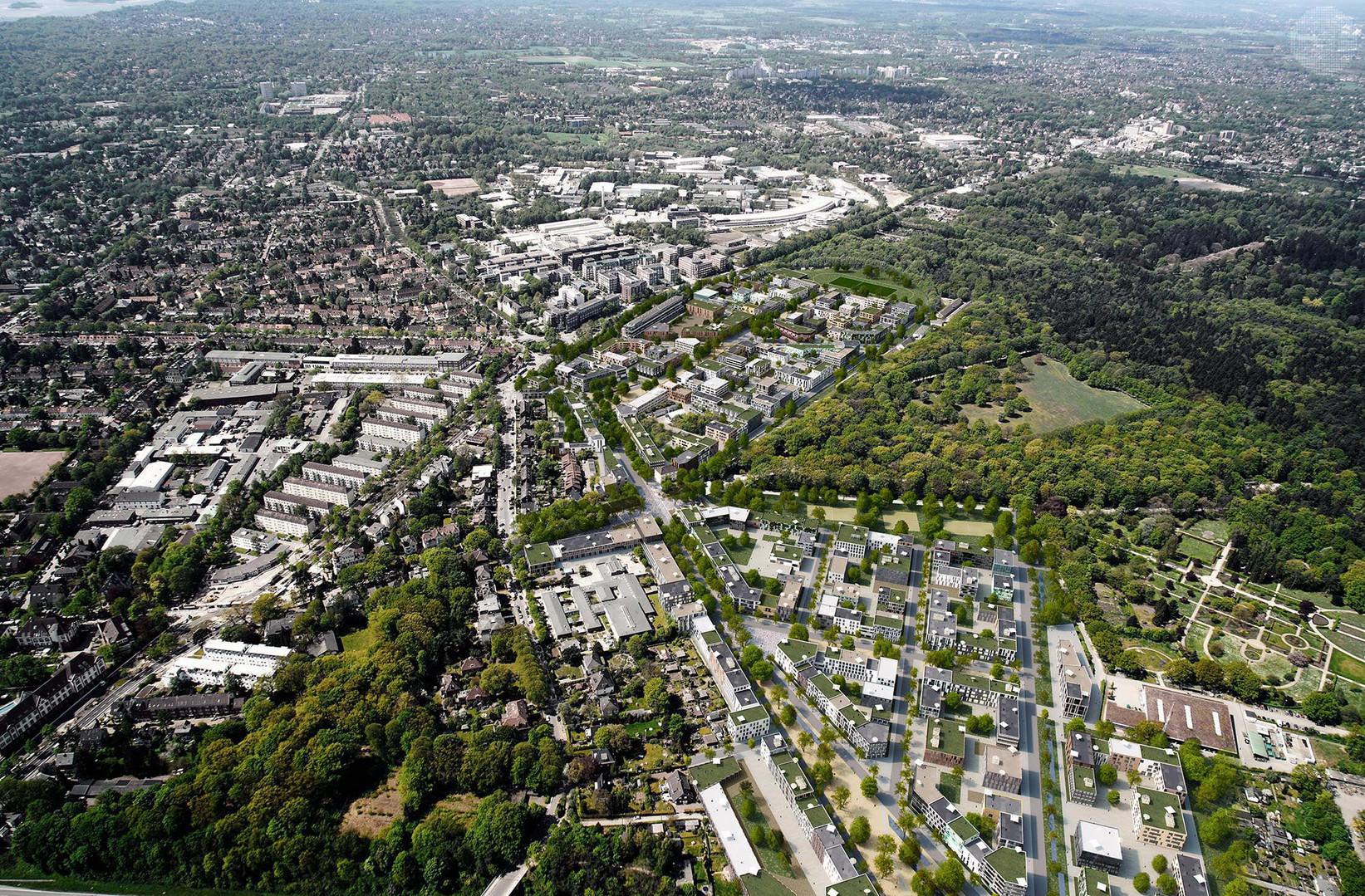 New city neighborhood