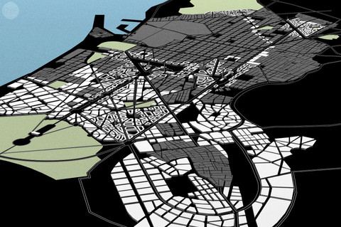 Jaussely's Master plan of Barcelona