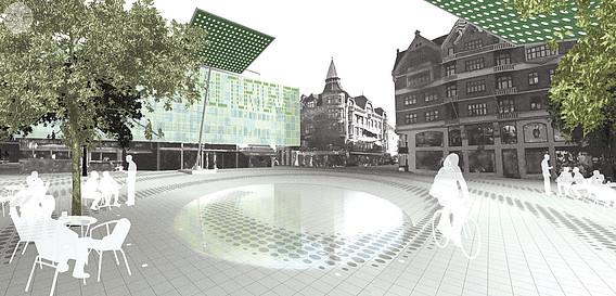 Remodelation of Købmagergade, Hauser Plads and Kultorvet
