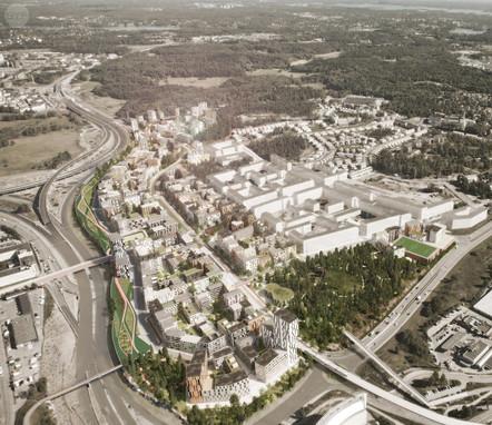 New residential neighborhood- Västra Ursvik
