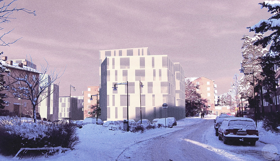 Housing development, Hägersten