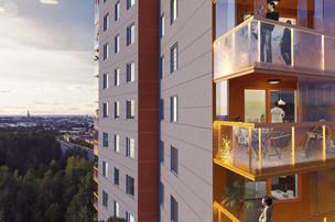 Apartment building Höjdpunkten