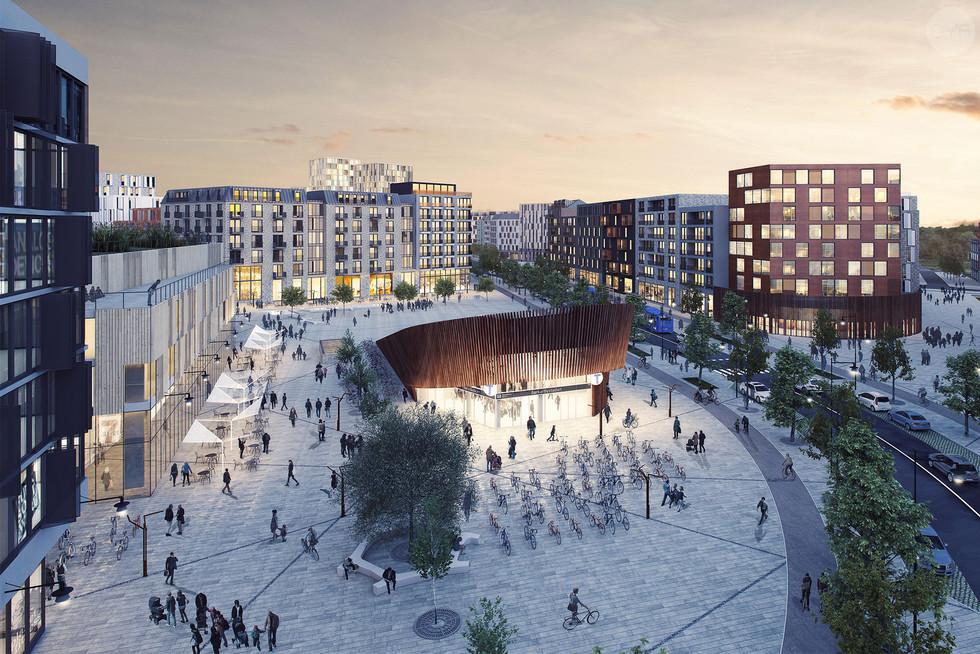 New urban neighbourhood