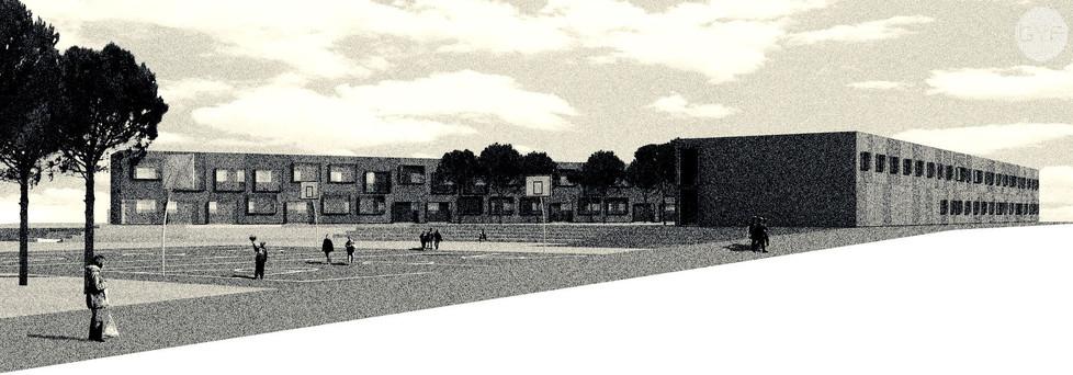 Primary School, Parc de les Aigües