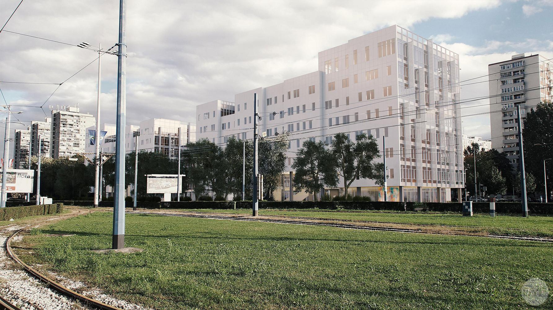 Hrvatska Lutrija office building