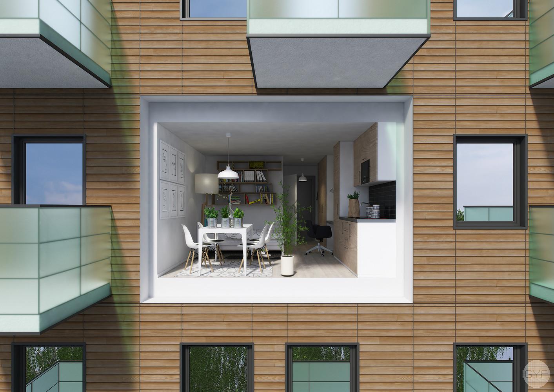 Prefabricated Student Apartment Module