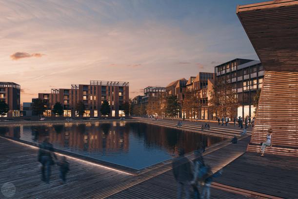 New city neighborhood Jakobsberg