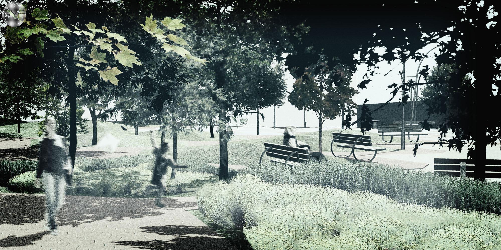 City park Parque del Agua
