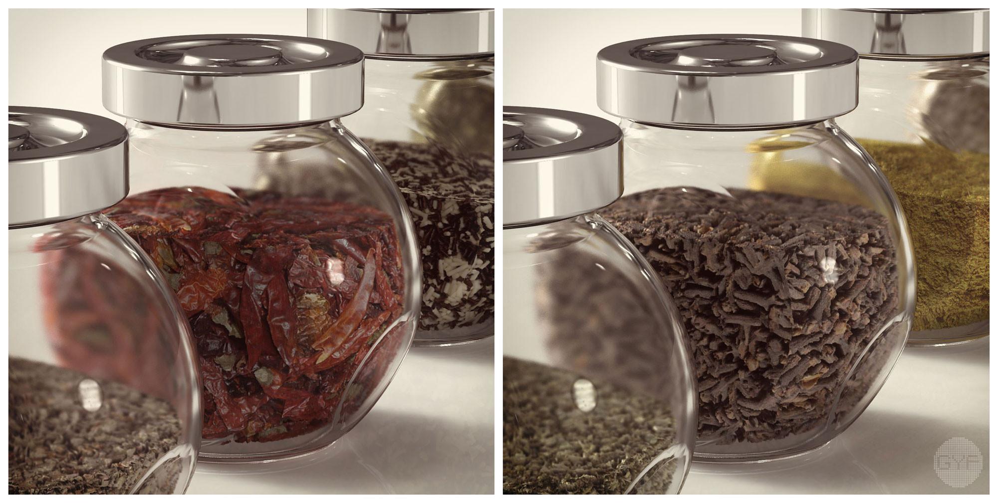 IKEA Rajtan Spice Jars