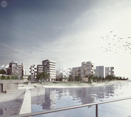 New Urban Residential area and regeneration of Eteläpuisto Park