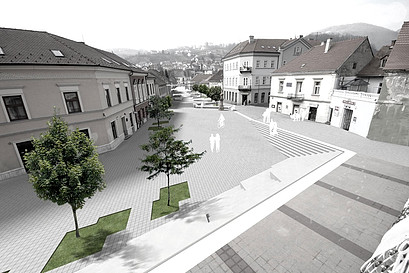 City square remodeling
