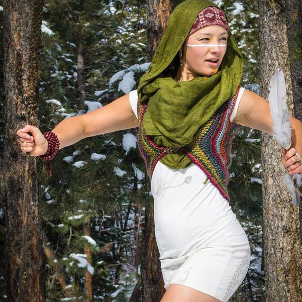 Empowered Forest Goddess