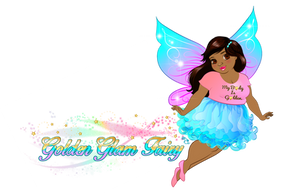 transparent background with pixie dust.p