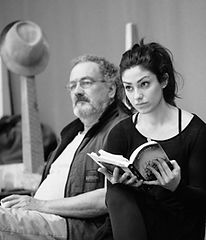 King Lear . Rehearsal Room . National Theatre . 2015