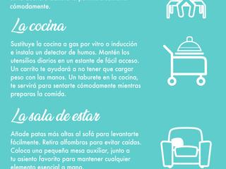 6 pasos para estar más cómodo en casa con esclerosis múltiple
